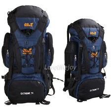 70L Waterproof Outdoor Sports Backpack Hiking Climbing Travel Bag Internal Frame