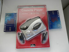 DURABRAND BASS BOOST CASSETTE PLAYER WALKMAN NEW/FACTORY SEALED IN PACKAGE