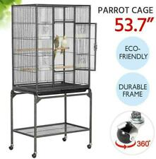 Bird Cage Large Play Top Bird Parrot Finch Cage Macaw Cockatoo Pet Supplies 53""