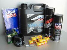 MANTENIMIENTO - KIT SUZUKI GSF 1250 BANDIT 04-07 con filtro aceite, bujía ,