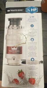 waste king garbage disposal 1/3 hp