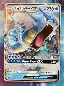 Gyarados GX SM212 Holo Verborgenes Schicksal Englisch Black Star Promo Pokemon