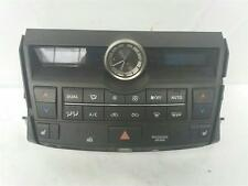 2015 Lexus NX Hybrid 2014 On 5 Door Hatchback Heater Control Assembly With Clock
