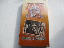 John Wayne Riders of Destiny VHS TAPE Movie 1933 Cecilia Parker, Gabby Hayes