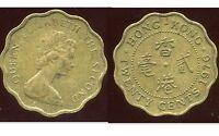 HONG KONG 20 cents 1976   ( bis )