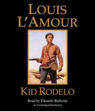 Louis L'Amour KID RODELO Unabridged CD *NEW* FAST 1st Class Ship! $30 Value