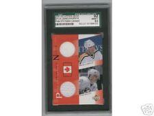 2001/02 M Lemieux P Kariya UD Dual Jersey Card BV $50