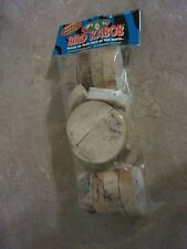 Bird Kabob Parrot Chips Bag Yucca Pieces Slices Small Animal Wood Chew Make Toy