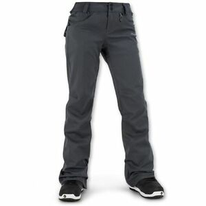 NWT WOMENS VOLCOM SPECIES STRETCH PANTS $180 XL charcoal stretch slim fit