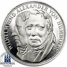 Deutschland 5 DM Silber 1967 PP Alexander & Wilhelm von Humboldt in Münzkapsel