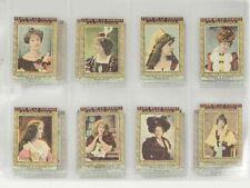 1900 Rare Flor de la Habana Tobacco Collection of Actress Cards