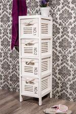 Regal Badregal mit vier Körben weiß *652
