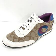 Coach Perrie Signature Tennis Shoes Sneakers Women's 9.5