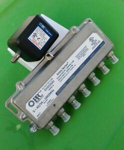 (NEW) PPC EVO15UU Series:B Enabled 5-Port Active Return Coax Amplifier Splitter