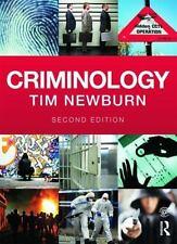 CRIMINOLOGY + WEBSITE - NEWBURN, TIM - NEW PAPERBACK BOOK