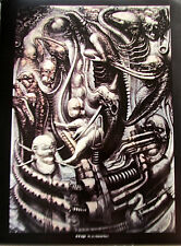 H R Giger  National Park Poster 1975 15x12  Offset Lithograph Unsigned