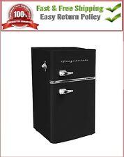 Frigidaire 3.2 cu. ft. 2 Door Retro Bar Mini Fridge Home Office Black