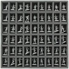 Feldherr Schaumstoffeinlage 35 mm mit 54 Fächern für Zombicide Brettspiel Box