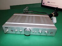 AUREX TOSHIBA SB-A10 Vintage Stereo Amplifier Amp Made Japan Small Size QUALITY