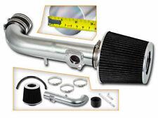 BCP BLACK For 2000 2001 2002 Corolla 1.8 1.8L Short Ram Air Intake Kit+ Filter