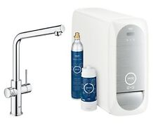 Grohe Blue® Duo dual monobloc filter tap for chilled still or sparkling UK only