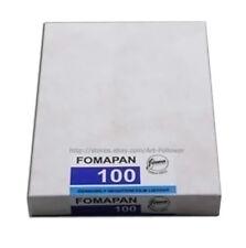 50 sheets FOMAPAN 100ios B&W Black and White 4x5in Print Film 2020 ~ Fresh