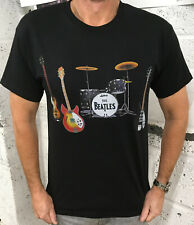Los Beatles Manga Corta Camiseta Unisex