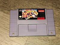 Street Fighter II Turbo Super Nintendo Snes Cleaned Tested Authentic