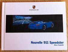 Catalogue - prospectus - brochure Porsche 911 Speedster