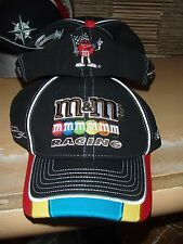 Champion! Kyle Busch Multi Colored M&M's Racing hat by Chase Fitted L/XL New
