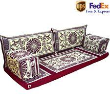 Floor Sofa Arabic Seating Oriental Moroccan Orientalische Sitzecke Beige FOAM