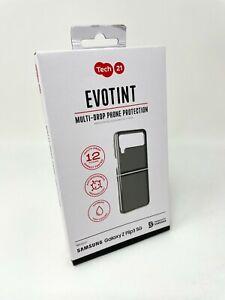 Tech21 EVO TINT Series Case for Samsung Galaxy Z Flip3 5G - Black Clear