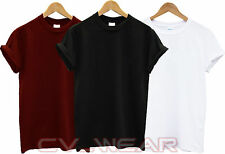 PLAIN GILDAN COTTON T SHIRT TOP TEE GIFT HOLIDAY TSHIRT SUMMER HEAVY NEW UNISEX