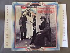COUNTRY JOE McDONALD WAR WAR WAR FROM POEMS OF ROBERT W. SERVICE LP VSD-79315
