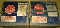 NOS NIB Brand New Pair of UTC LS34 High Level Line Matching Potted Transformers