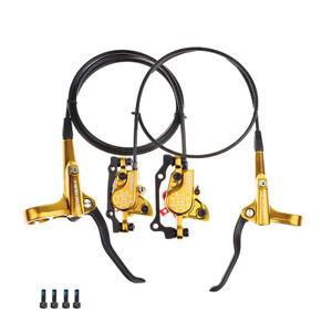 BLOOKE Hydraulic Disc Brake Bike Brakes Integrated Cylinder Fit Shimano MT200