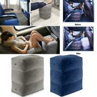 Flugzeug Zug Reise Fußstütze Aufblasbare Bein Fußstütze Tragbare Kissen Bed H9X2