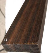 Macassar Ebony Hardwood 2x2x24 Tomahawk HNDL Turkey Calls Japanese Swords Lumber