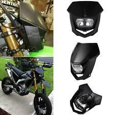 Universal Motorcycle Dirt Bike Halogen Headlight Fairing Kit Motocross Enduro