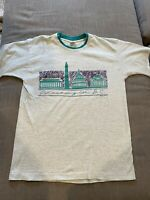 Vintage Washington DC Destination T Shirt Made In USA Single Stitch