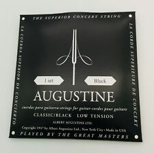AUGUSTINE Classic Black - Set Corde Chitarra Classica Low Tension