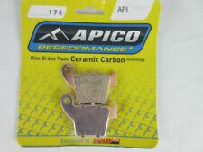 HONDA CERAMIC CARBON REAR BRAKE PADS CR 150 250 450 MX ENDURO 02-18 BP176API K1