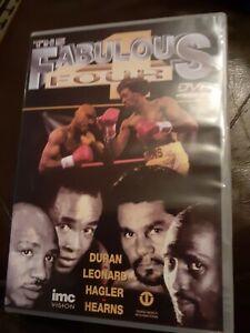 The Fabulous Four  Fabulous Four Featuring Hagler, Hearns, Leonard Duran dvd