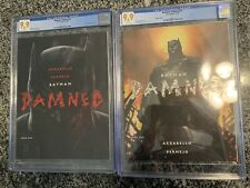 Batman Damned 1 & 2 CGC 9.9 Set Lee Variant! Not 9.8