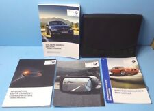 15 2015 BMW 3 Series Saloon/318i/320i/330i/340i/316d-330d owners manual w/NAVI