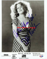 Bette Midler Signed 8x10 autographed photo RP