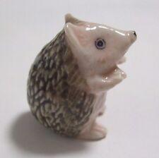 * Animal Miniature Ceramic Fridge Magnet Porcupine *