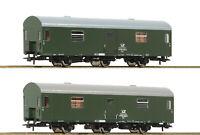 """Roco H0 74111 Reko-Postwagen-Set """"Bauart Posta"""" der DR - NEU + OVP"""