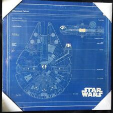 Star Wars Millennium Falcon Canvas Picture BLACK FRIDAY Christmas Sale