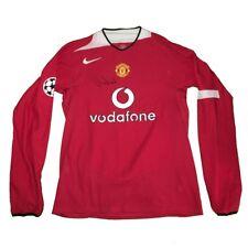 Gary Neville match worn/issue shirt Manchester United Signed